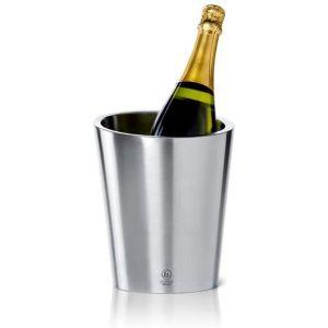 LEOPOLD VIENNA Двустенен стоманен охладител за шампанско